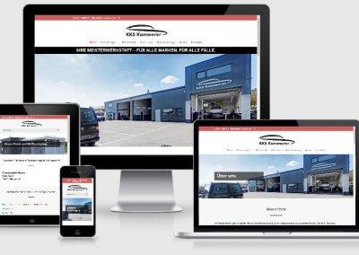 Website für KKS Kammerer Kraftfahrzeug-Service GmbH