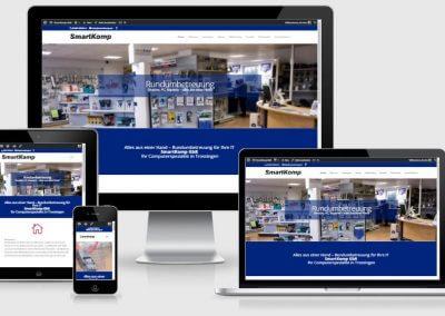 Webseite für die SmartKomp GbR