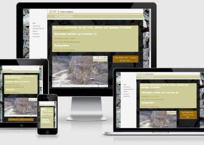 Website für Bohren Sprengen Schneider