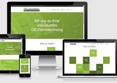 Webseite für INDAPPRA
