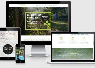 Webseite für Frommer gartenreich Böhringen
